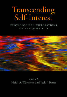 Transcending Self-interest book
