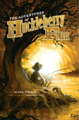 Adventures of Huckleberry Finn with Illustrations by Eric Powell book