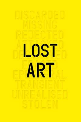 Lost Art: Missing Arworks of Twentiet book