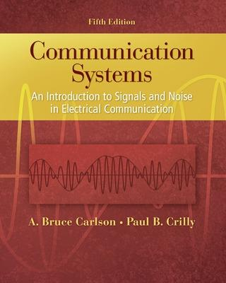 Communication Systems by A. Bruce Carlson