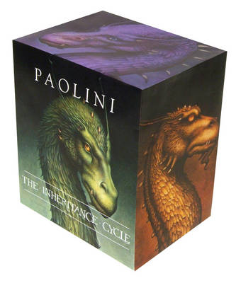Inheritance Cycle 4 Book Boxed Set by Christopher Paolini