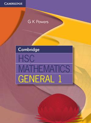 Cambridge HSC Mathematics General 1 by Harrap