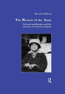 Return of Ainu book
