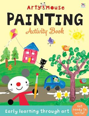 Arty Mouse Painting book