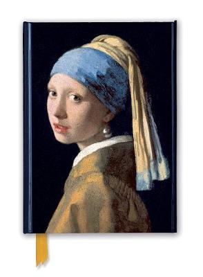 Johannes Vermeer: Girl with a Pearl Earring (Foiled Journal) book