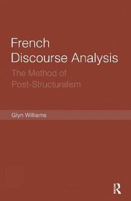 French Discourse Analysis book
