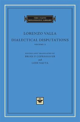 Dialectical Disputations by Lorenzo Valla