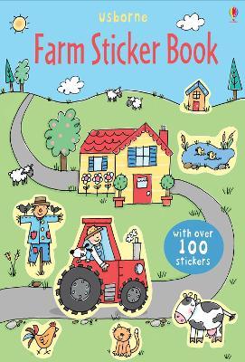 Farm Sticker Book by Cecilia Johansson