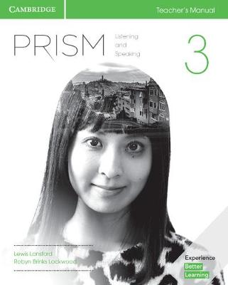 Prism Level 3 Teacher's Manual Listening and Speaking book