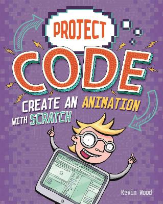 Project Code: Create An Animation with Scratch book