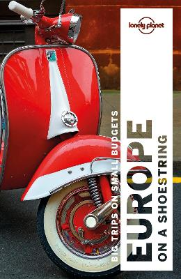 Lonely Planet Europe on a shoestring book