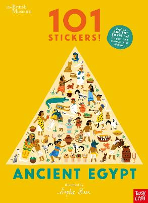 British Museum 101 Stickers! Ancient Egypt by Sophie Beer