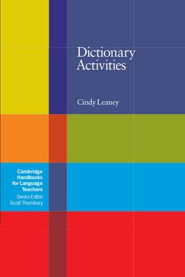 Dictionary Activities book