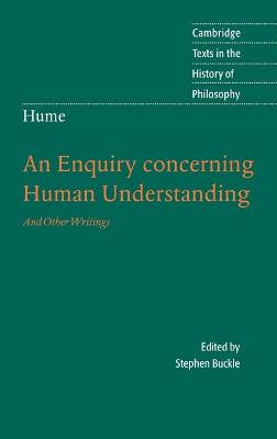 Hume: An Enquiry Concerning Human Understanding by Stephen Buckle