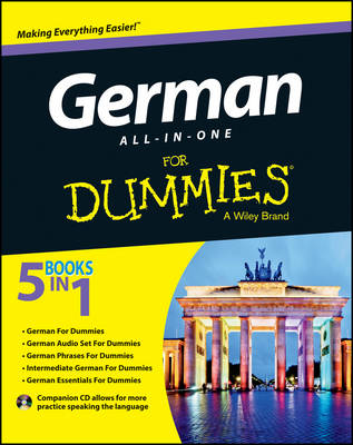 German All-In-One for Dummies with CD by Wendy Foster