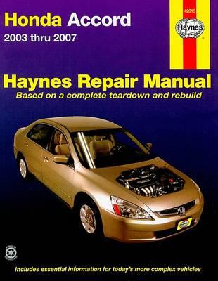 HM Honda Accord 2003-2007 by Robert Maddox