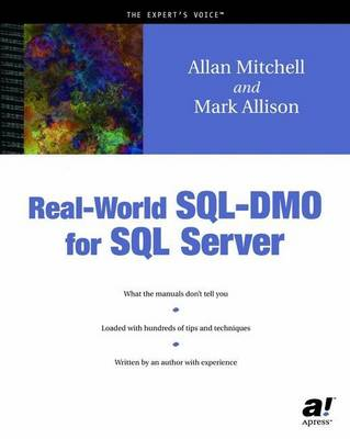 Real-World SQL-DMO for SQL Server book