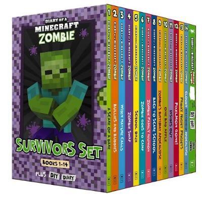 Diary of a Minecraft Zombie: Survivors Set by Zack Zombie