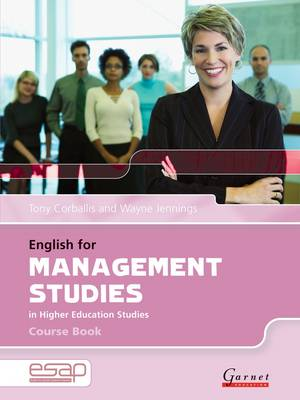 English for Management Studies Course Book + CDs by Tony Corballis