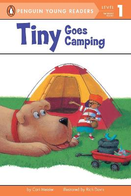 Tiny Goes Camping book