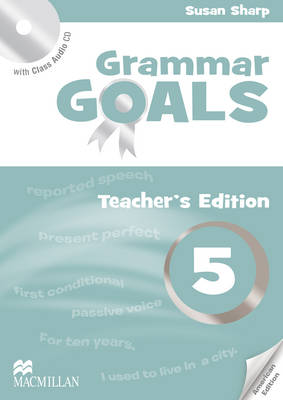 American Grammar Goals Level 5 Teacher's Book Pack by Sue Sharp