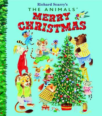 Animals Merry Christmas by Kathryn Jackson