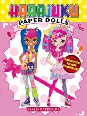 Harajuku Paper Dolls book