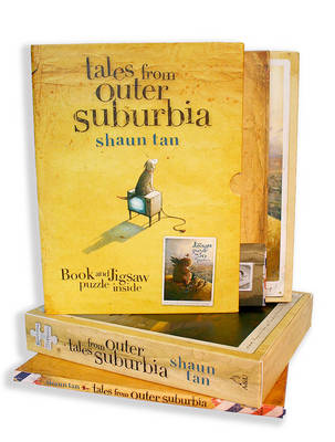 Tales from Outer Suburbia Book and Jigsaw Puzzle by Shaun Tan