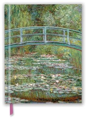 Claude Monet: Bridge over a Pond for Water Lilies (Blank Sketch Book) by Flame Tree Studio