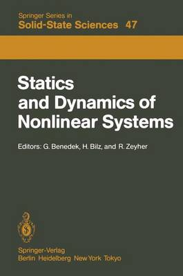 Statics and Dynamics of Nonlinear Systems by Giorgio Benedek