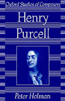 Purcell by Peter Holman