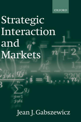 Strategic Interaction and Markets book