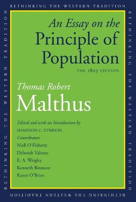 Essay on the Principle of Population book