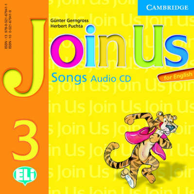 Join Us for English 3 Songs Audio CD book