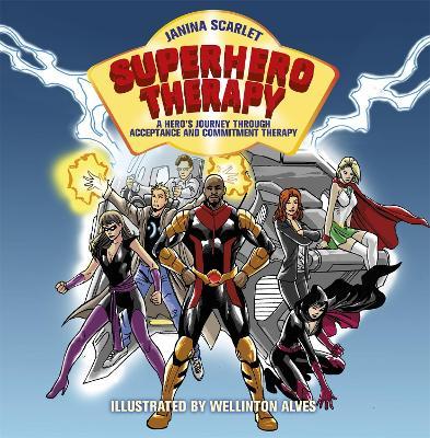 Superhero Therapy by Janina Scarlet