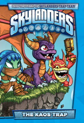 Skylanders The Kaos Trap book