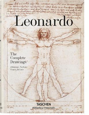 Leonardo Da Vinci. The Graphic Work by Frank Zollner