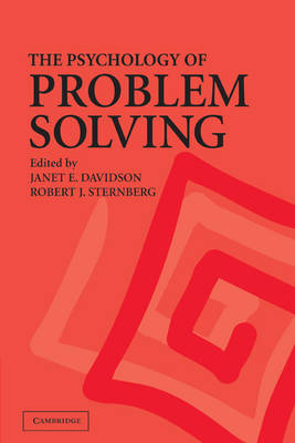 Psychology of Problem Solving book