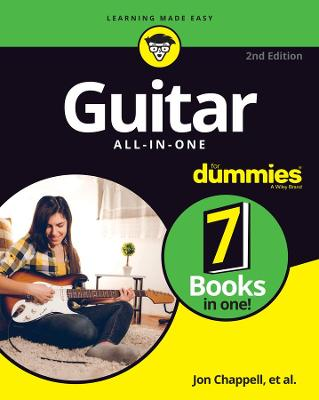 Guitar All-in-One For Dummies: Book + Online Video and Audio Instruction by Hal Leonard Corporation