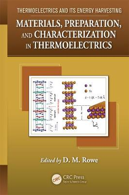 Thermoelectrics and its Energy Harvesting, 2-Volume Set by David Michael Rowe