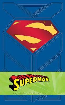 Superman Ruled Pocket Journal by Daniel Wallace