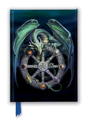 Anne Stokes: Wheel of the Year (Foiled Journal) by Flame Tree Studio