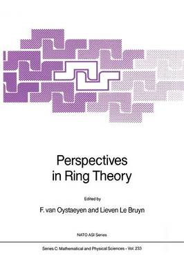 Perspectives in Ring Theory by Freddy Van Oystaeyen
