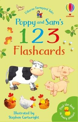 Poppy and Sam's 123 Flashcards by Stephen Cartwright
