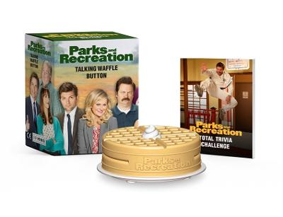 Parks and Recreation: Talking Waffle Button book