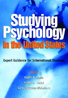 Studying Psychology in the United States book