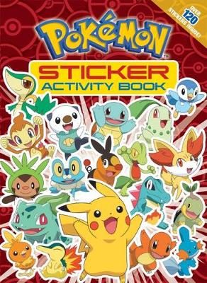 Pokemon Sticker Activity Book book