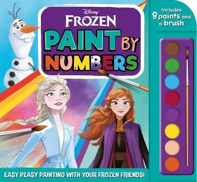 Frozen: Paint by Numbers (Disney) book