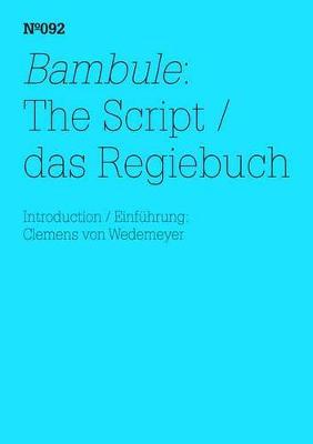 Bambule:: Das Regiebuch book