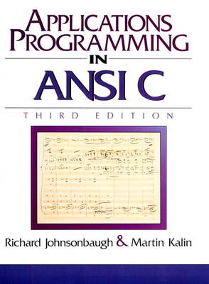 Applications Programming in ANSI C by Martin Kalin